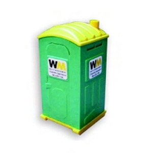 Waste and Recycling Themed Items - Portable Toilet Porta Potty Shaped Banks