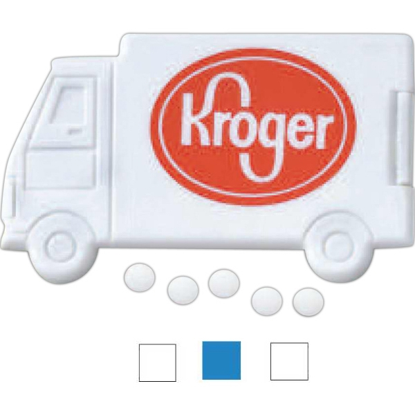 Customized 3 Day Service Truck Shaped Mints