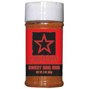 Custom Made Private Label Sweet Barbeque Spices Seasonings and Rubs in 3oz. Jars