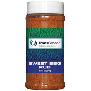 Custom Printed Private Label Sweet Barbeque Spices Seasonings and Rubs in Plastic Pint Jars