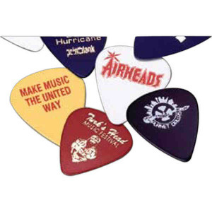 Custom Imprinted Professional Guitar Picks
