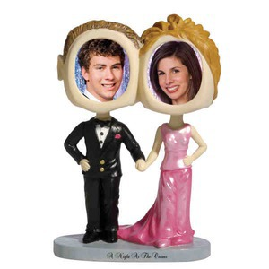 Custom Imprinted Prom Date Bobble Head Picture Frames