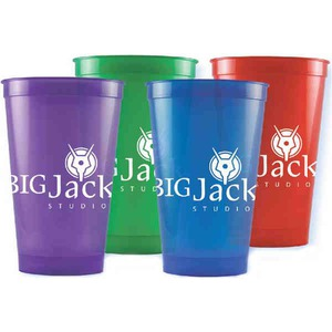 Custom Designed Purple Color Stadium Cups!