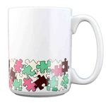 Custom Imprinted Puzzle Mugs!
