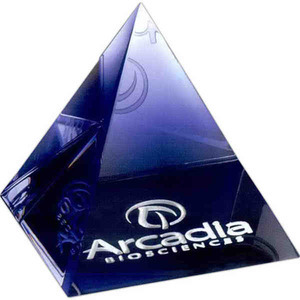 Paperweight Crystal Gifts - Pyramid Paperweight Crystal Gifts