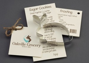 Customized Rabbit Stock Shaped Cookie Cutters!