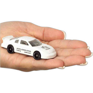 Custom Imprinted Racing Theme Die Cast Toy Cars!