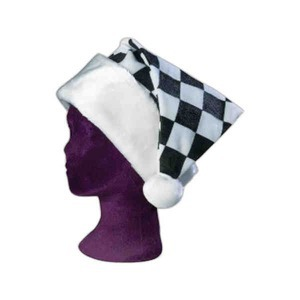Custom Imprinted Racing Themed Santa Hats
