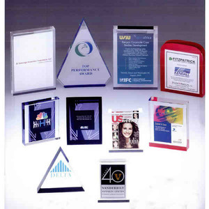 Acrylic Embedments - Rectangle Shaped Acrylic Embedments