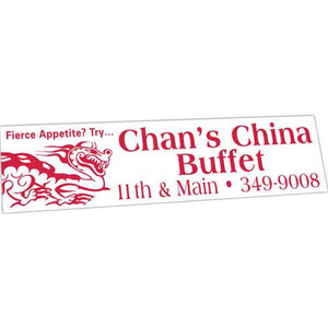 Rectangle Shaped Items - Rectangle Shaped Bumper Stickers