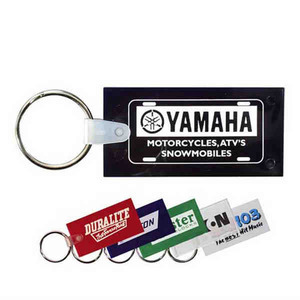Personalized Rectangular Shaped Key Tags!
