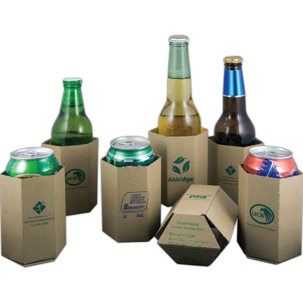 Custom Decorated Recycled Can Coolers