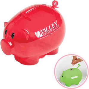 Customized Recycled Material Piggy Banks!