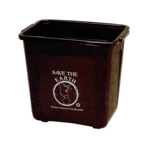 Custom Made Recycled Material Waste Baskets!