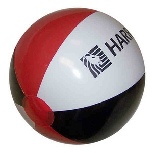 Alternating Color Beach Balls - Red Black and White Alternating Color Beach Balls