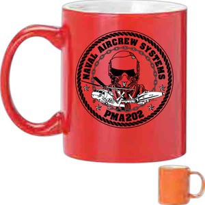 Red Color Promotional Items - Red Color Mugs