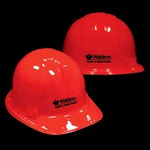 Customized Red Novelty Construction Hats
