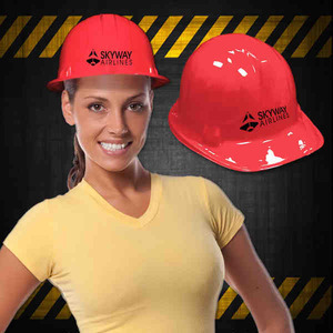 Construction Hats - Red Novelty Construction Hats
