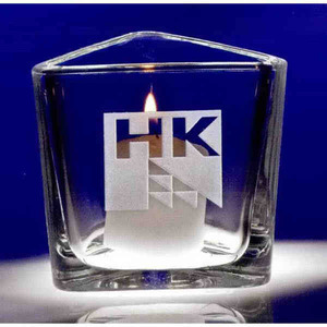 Custom Imprinted Reflections Votive Crystal Gifts