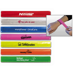 Reflective Promotional Items - Reflective Wrist Bands