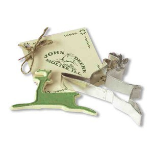 Custom Designed Reindeer Stock Shaped Cookie Cutters