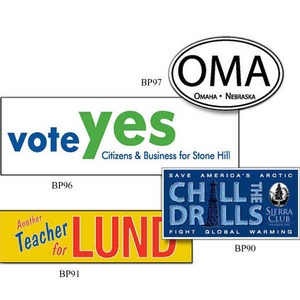 Oval Euro Bumper Stickers -