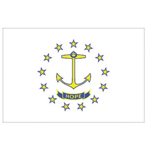 Rhode Island State Shaped Items -