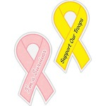Custom Printed Breast Cancer Awareness Ribbon Items