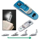 Custom Imprinted Robot Reading Book Lights