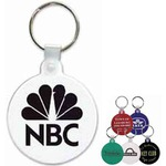Custom Imprinted Round Key Tag