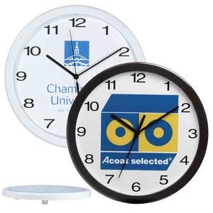 Custom Imprinted Wall Clocks Round!