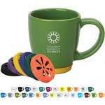 Custom Imprinted Rubber Bottom Mugs!