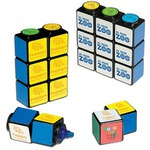 Custom Printed Rubiks Cube Magnetic Highlighter Sets!