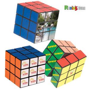 Custom Imprinted Rubiks Cube Puzzles!
