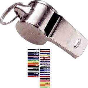 Customized Rush Service Metal Whistles!