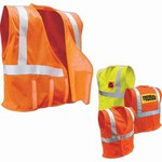 Custom Printed Safety Reflective Apparel!