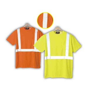 Personalized Safety Reflective T-Shirts with a Pocket!