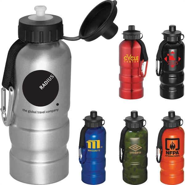 Custom Printed 20oz. Lightweight Aluminum Sports Bottles!