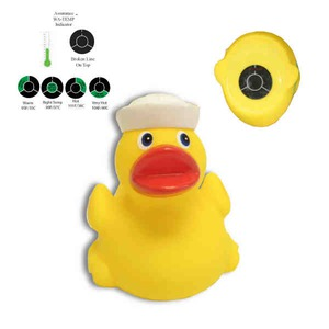 Sailing Promotional Items - Sailing Rubber Duck Keychains