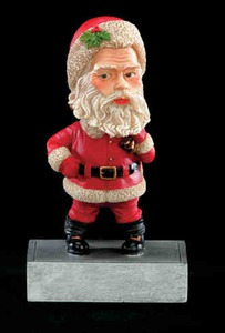 Custom Designed Santa Bobble Heads