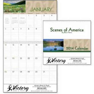 Appointment Calendars - Scenes of America Big Block Appointment Calendars