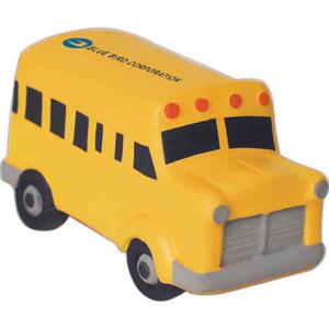 Custom Printed School Bus Stress Relievers!