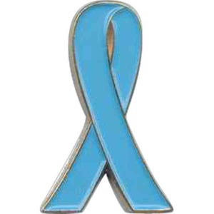 Custom Imprinted Scleroderma Awareness Ribbon Pins