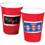 Custom Printed Write On Party Cups!