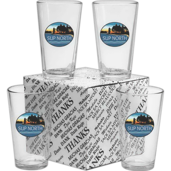 Customized Pint Glass Sets!