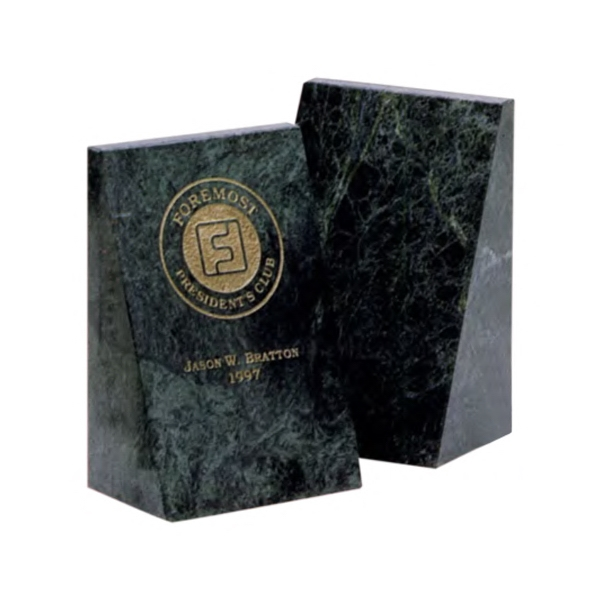 Custom Imprinted Bookends!
