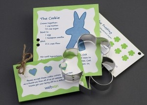 St. Patrick's Day Themed Promotional Items - Shamrock Stock Shaped Cookie Cutters