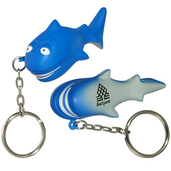 Personalized personalized-shark-key-rings