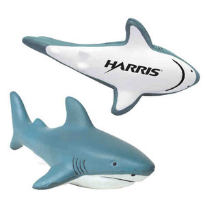 Custom Imprinted Shark Stressball Squeezes