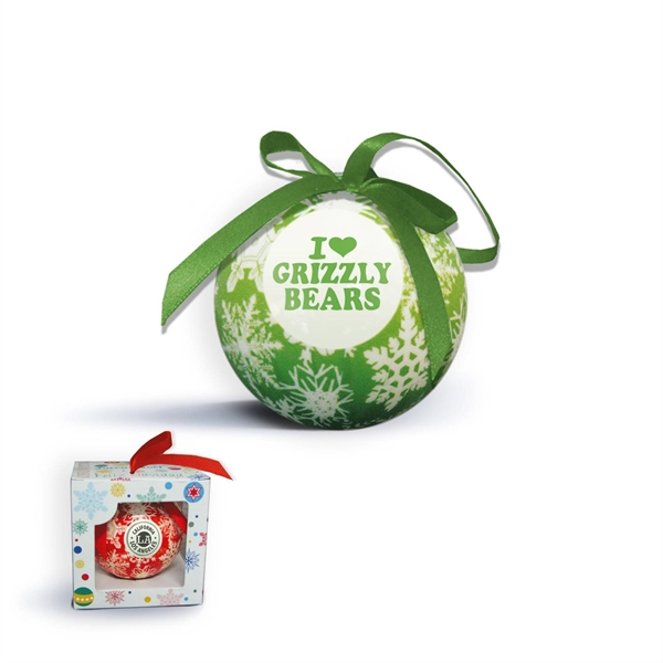 Custom Imprinted Ball Christmas Ornaments!